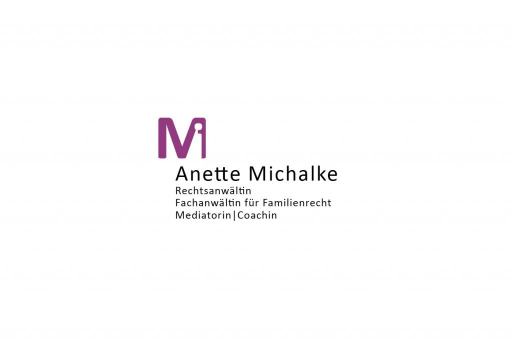 Anette Michalke – Rechtsanwältin | Logo | 2015